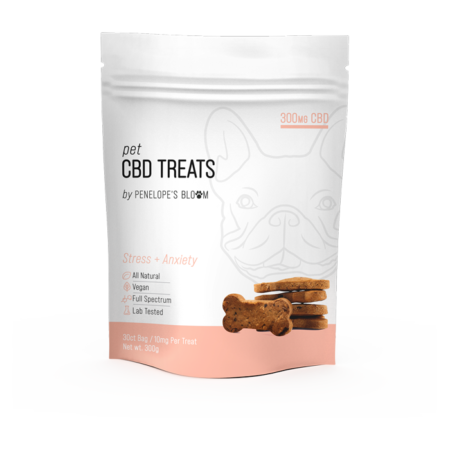 CBD Dog Treats for Anxiety and Stress
