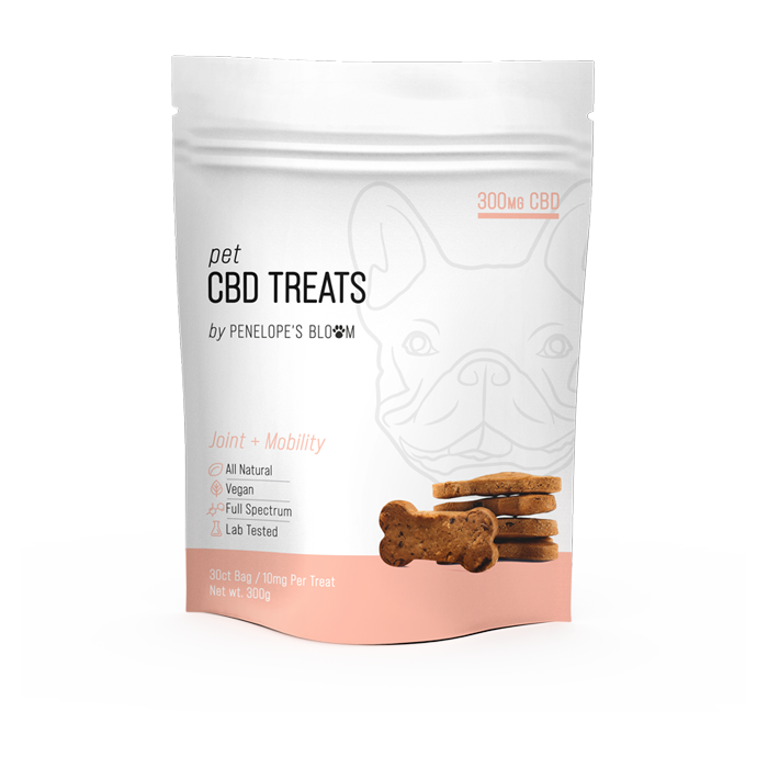 CBD Dog Treats for Joint Pain + Mobility